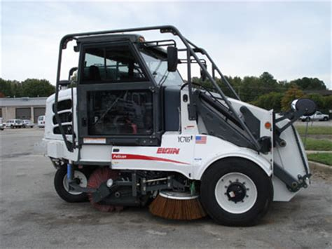 economic research: street sweeper