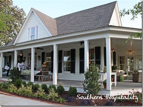 farmhouse porches country house plans with porches southern living house