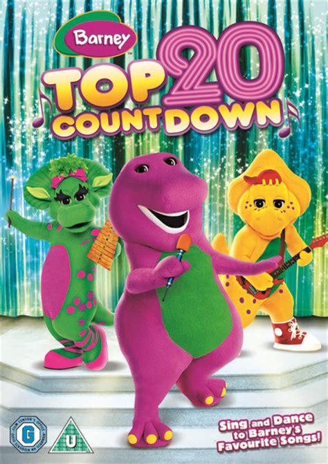 Barney Top Barney Top 20 Countdown Dvd Zavvi