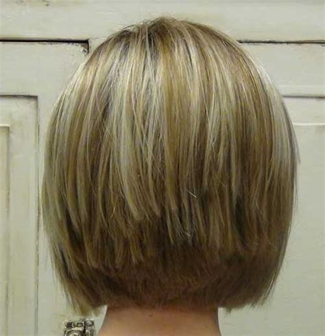 short stacked haircuts for fine hair that show front and back short stacked bob hairstyles for fine hair