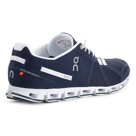 on shoes running on cloud running shoe 2016 navy white bike24