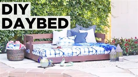 build an outdoor daybed hgtv how to build an outdoor daybed hgtv youtube
