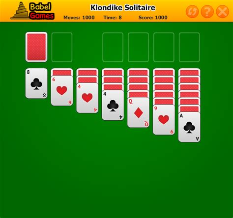 Pch Games Klondike Solitaire - freecell solitaire free