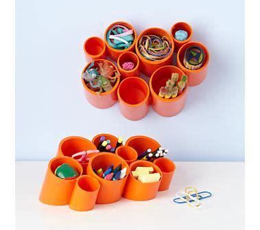 kids storage kids orange wall cubby organizer