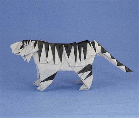 Origami Tiger - origami animals