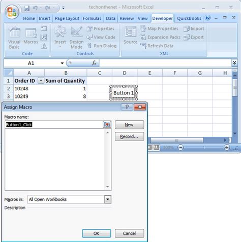 excel 2007 pivot table format lost on refresh ms excel 2007 refresh multiple pivot tables with a button