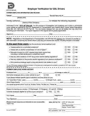 cdl verification form fill online printable fillable