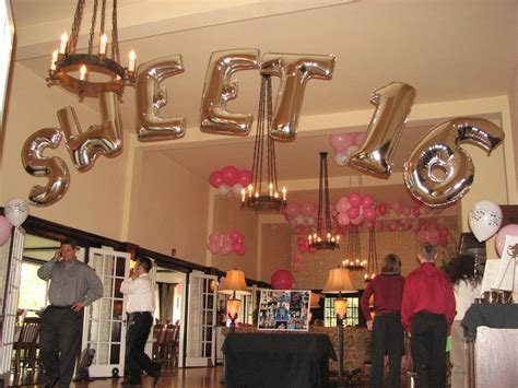Decorating With Balloons And Streamers