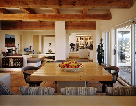 New Mexico Home Decor by Interiors New Mexico Santa Fe Style Mediterranean Dining