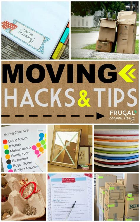 top 50 moving hacks and tips ideas to make your move easier