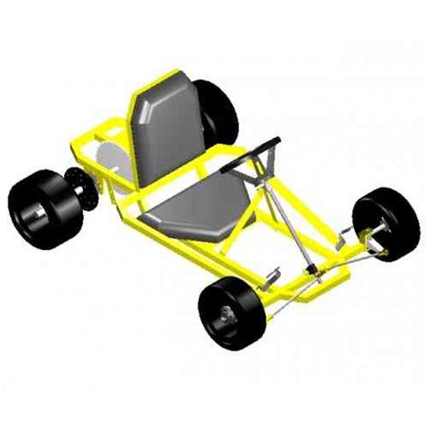 go design go kart plans and blueprints by spidercarts