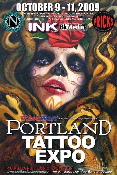 portland tattoo expo portland expo by gothfox on deviantart
