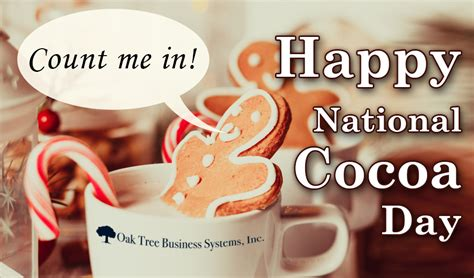 cocoa day credit union recipes for the holiday and national days