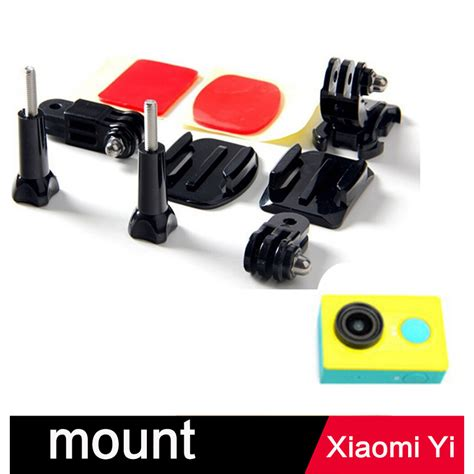 helmet front mount for xiaomi yi xiaomi yi 2 4k gopro black jakartanotebook