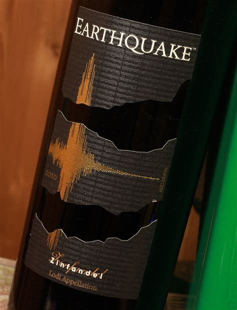 earthquake zinfandel earthquake zinfandel 2010