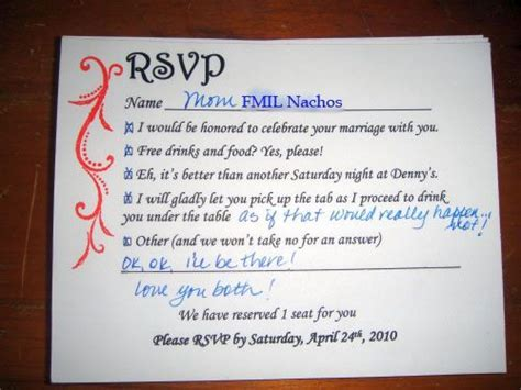 Fun RSVP Wording : wedding riviera maya rsvp stationery