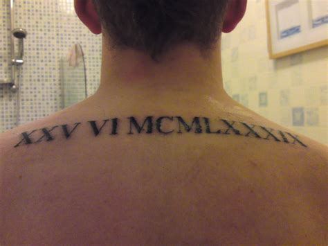 numeral numbers tattoo meaning roman numeral tattoos designs ideas and meaning tattoos