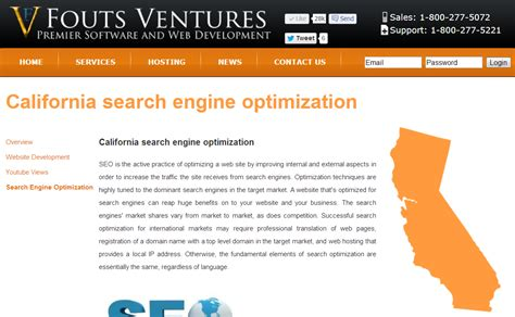 California Search Engine New Nationwide Fouts Ventures Map Guides Web And Marketing