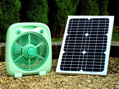 solar powered electric fan a solar powered fan that won t disappoint gifts