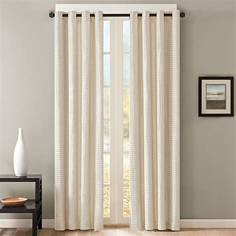 grommet window curtains skyline grommet window curtain panel bed bath beyond