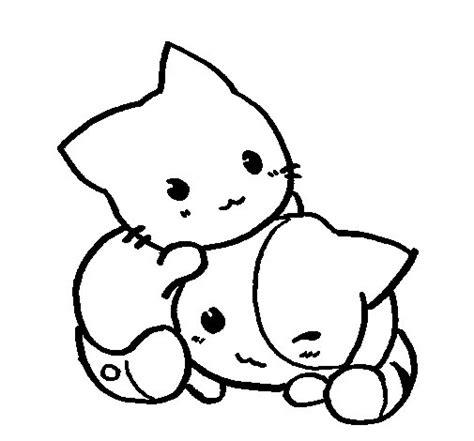 imagenes de nekos kawaii para dibujar dibujo de nek4os para colorear dibujos net