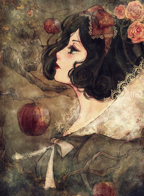 painting snow white schneewittchen by belialchan on deviantart