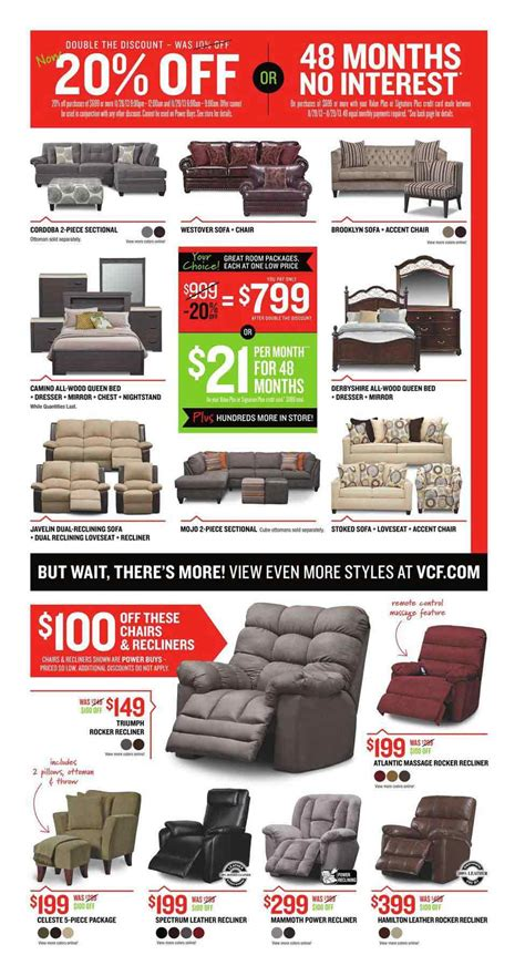 black friday recliners value city black friday 2013 ad find the best value city