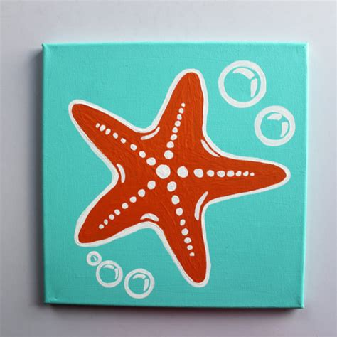 Lilly Pulitzer Home Decor starfish painting on pinterest seashell painting