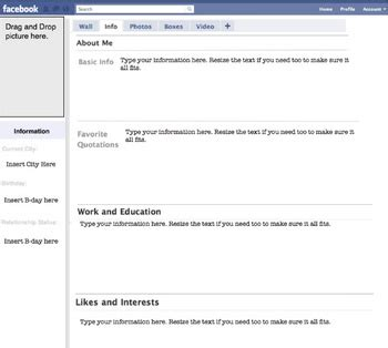 biography project lesson plan fakebook biography event project lesson plan by make