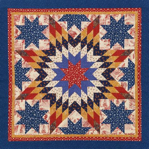 Americana Quilt by Americana Lone Allpeoplequilt