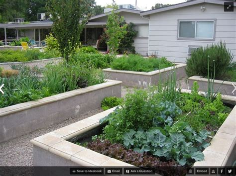 Raised Garden Bed On Concrete Patio by Permanent Concrete Raised Beds Edible