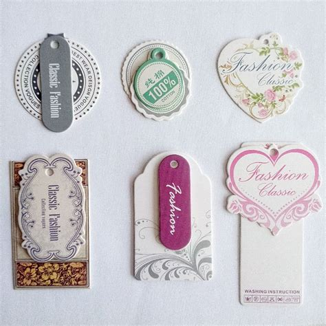 Handmade Shop Names - custom shop name grade a 400 g coated paper tags baby