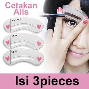 Mini Eyebrow Class Stencils Cetakan Alis Isi 3 jual cetakan alis mini class brow kecantikan alami mata wanita korean style salon