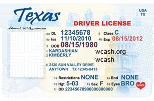 Tennessee Id Card Template by Pin By Morris On Id Card In 2018