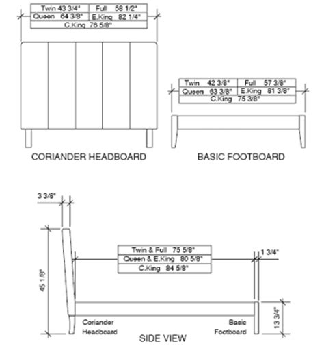 measurement of a king size bed king size beds dimensions image search results