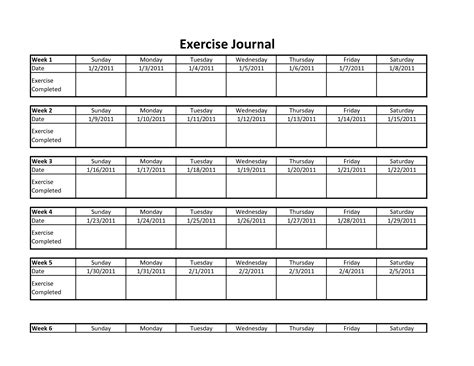 change from within a journal of exercises and meditations to transform empower and reconnect books 9 best images of printable exercise journals printable