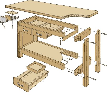 working bench design 9 highly detailed work bench plans