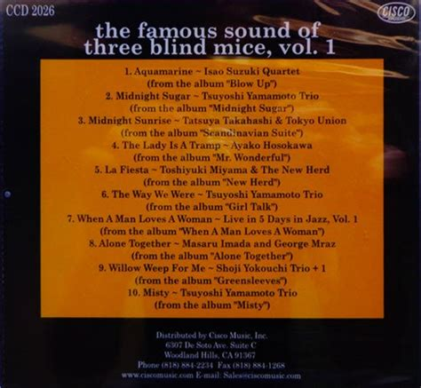 Mice Vol 1 various artists the sound of three blind mice 三盲