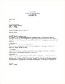 Sle Of General Cover Letter by 6 General Cover Letter Template Outline Format