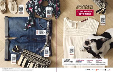 Comptoir Du Cotonnier by Comptoir Des Cotonniers Lance Le Fast Shopping Sur Mobile