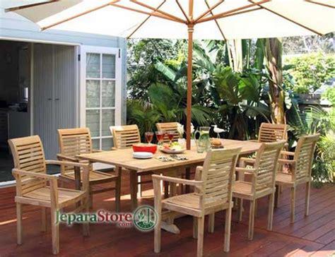 desain meja payung meja payung taman stacking jepara store toko mebel