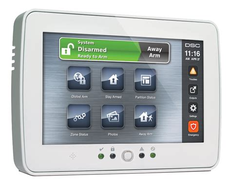 dsc residential security system