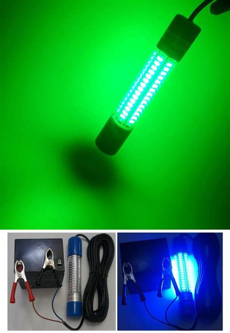 portable underwater boat lights portable underwater led fishing light with 5m cable 12v