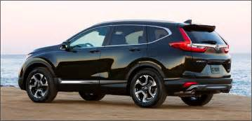 Honda Crv Pricing 2017 Honda Cr V Pricing Details And Features
