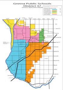 school district map by region gretna school board approves new attendance area