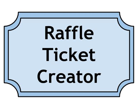 Template For Raffle Tickets With Numbers Dtk Templates Raffle Ticket Template Word