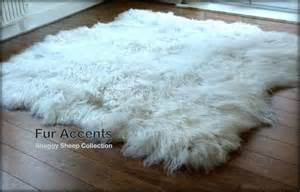White Fur Area Rug Truly Thick White Sheepskin Area Rug 60 X 70 Faux Fur Polar