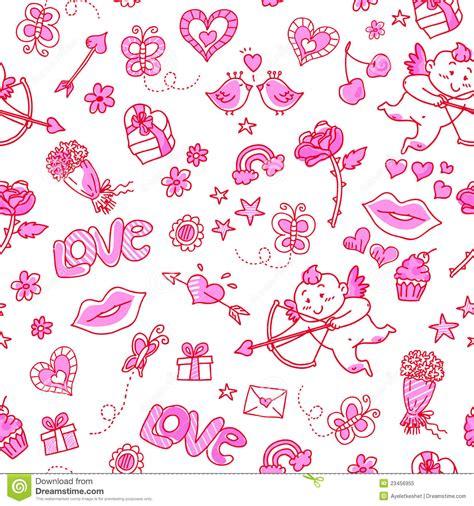 love pattern image love pattern stock illustration image of cherries