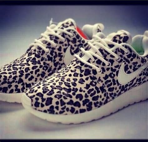 shoes nike leopard print animal print running shoes
