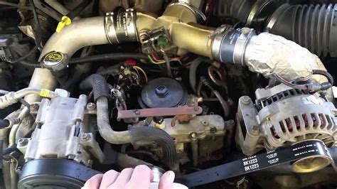 ford diesel glow plug operation tips  tricks youtube